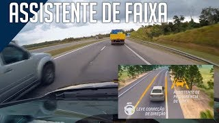 Chevrolet Cruze LTZ: Assistente de Faixa