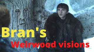Bran's Weirwood visions - explained