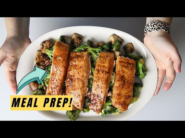 Easy Keto Teriyaki Salmon and Broccoli