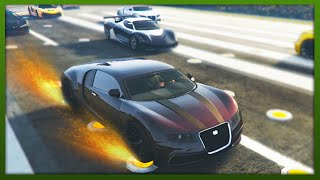GTA 5 - NO Brakes Challenge! - (GTA 5 Funny Moments)