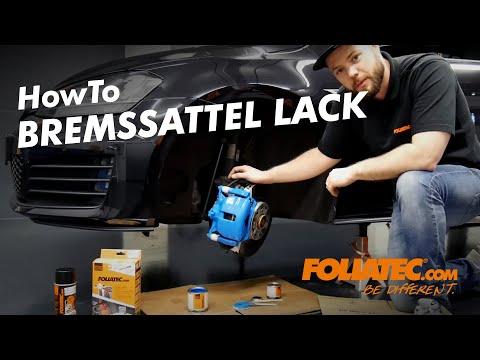 FOLIATEC.com Bremssattel Lack - How To Do