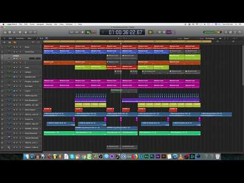 EDM showcase: Style of Jay Hardway [Logic Pro X]