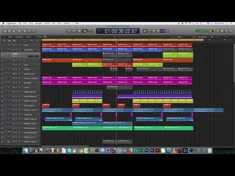 EDM showcase: Style of Jay Hardway [Logic Pro X]