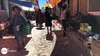 Impressionen vom Sonntagsmarkt in Tarabuco