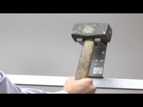 K.Lean 5S Werkzeughalter für Fäustel und Hammer