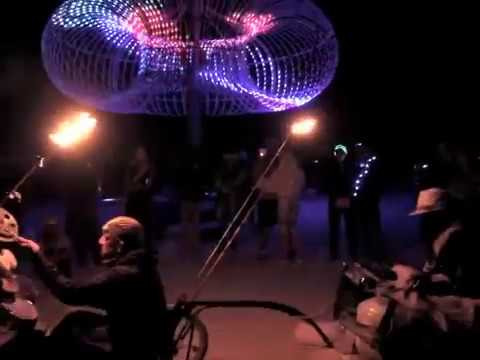 Janover & reSunator on the Realmsmobile • Burningman 2012