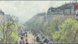 Le Boulevard Montmartre, Matinée De Printemps (Pissarro)