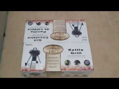 Unboxing - Masterbuilt Pro Kettle Grill 18.5 inches