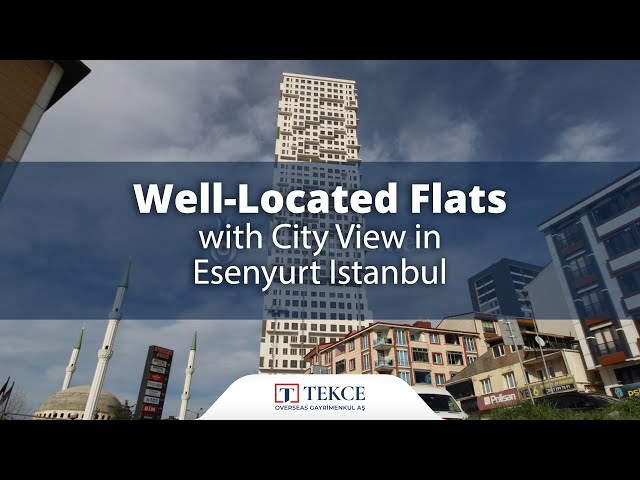 Apartments Close to Shopping Centers in Esenyurt Istanbul