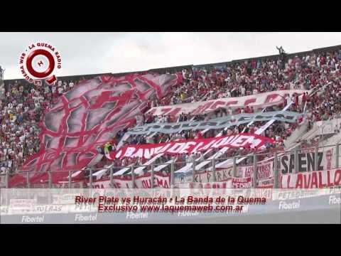 """""""River Plate vs Huracan - La Banda de la Quema - www.laquemaweb.com.ar"""" Barra: La Banda de la Quema • Club: Huracán"""