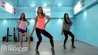 Уроки танцев для начинающих  Видео урок от школы Go Go танцев Dance Paradise  Часть 5