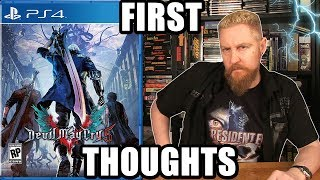 DEVIL MAY CRY 5 (First Thoughts) - Happy Console Gamer