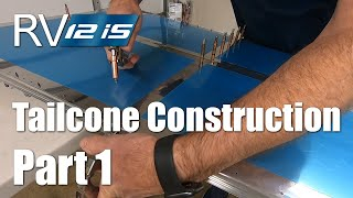 RV Aircraft Video - RV-12iS Tailcone Construction Part 1
