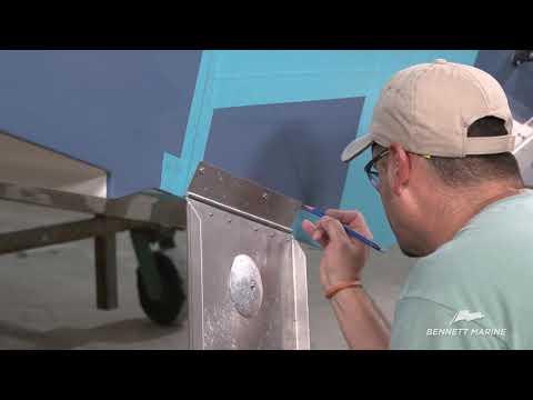 video library bennett marinebolt electric trim tab install \u2013 part 1 (trim tabs)