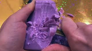 ASMR /АСМР Satisfying Soap (Carving) Cutting/ Режу  Мыло Мурашечное видео