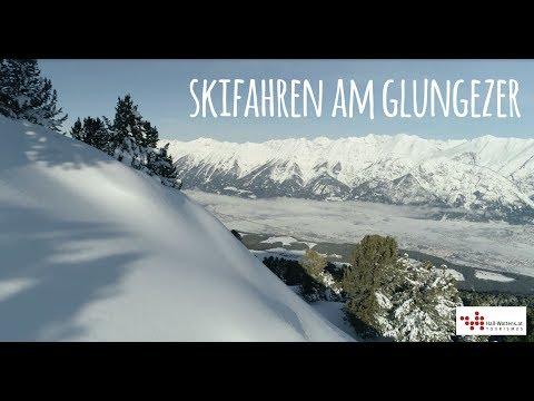 Skifahren am Glungezer