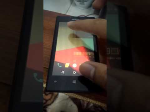 Android 71 nougat installed on nokia lumia 520 windows phone play video ccuart Image collections