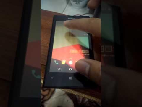 Android 7 1 Nougat Installed on Nokia Lumia 520 Windows Phone