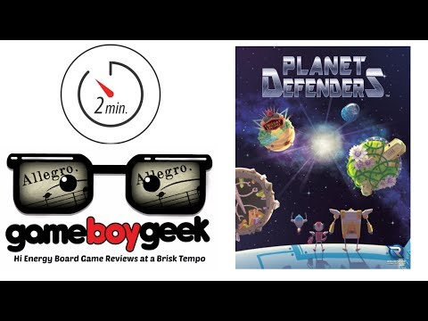 The Game Boy Geek's Allegro (2-min) Review of Planet Defenders
