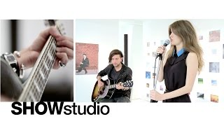 SHOWstudio: Café Concert - Sunday Girl: I Love You More