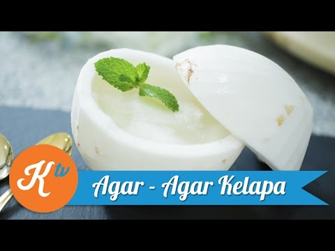 Video Resep Puding Kelapa (Coconut Pudding) | CATHERINE SUMITRI