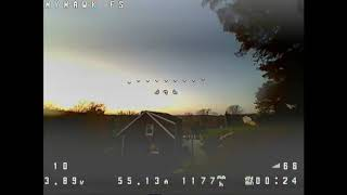 EMAX Tinyhawk Freestyle FPV Freestyle Fall Flight