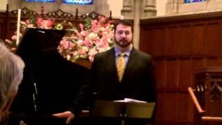 Broadus Hamilton, tenor; 1. Élégie, 2. Crépuscule, 3. Nuit d'Espagne