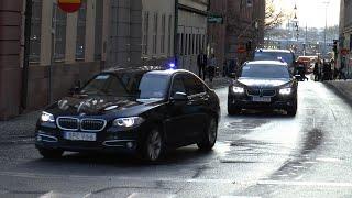 preview picture of video 'VIP Police Escort/Poliseskort Stockholm [SE | 2.2015]'