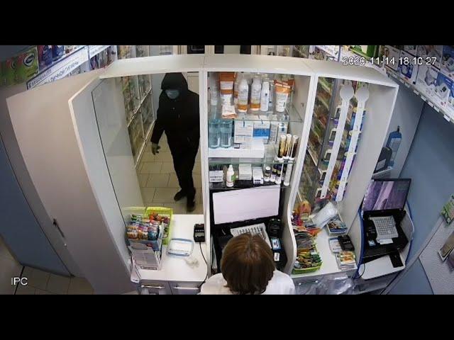 В Ангарске задержали грабителя аптек