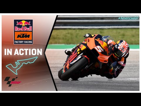 KTM in action: Red Bull Grand Prix of the Americas