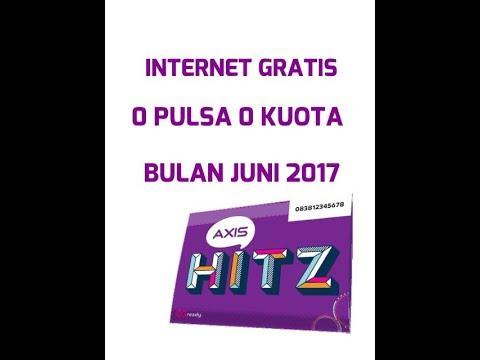 Video Internet gratis 0 pulsa 0 kuota axis hitz beneran bisa !!!!