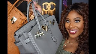"Boujee on A Budget | Amazon Leather ""Firkin"" Bags"