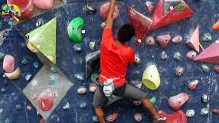 Atlet Panjat Tebing Dukung Asian Games 2018
