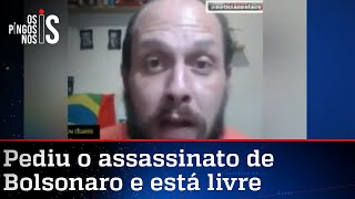 Youtuber pede o assassinato de Bolsonaro, mas não vai para a cadeia