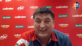 """Mensur Suljovic responds to Gary Anderson's rant: """"I didn't like it – it's a problem in his head"""""""