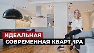 Дизайн интерьера в современном стиле, обзор квартиры 196 кв.м. Рум тур по квартире
