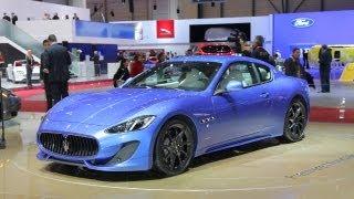[RoadandTrack] 2013 Maserati GranTurismo Sport @ 2012 Geneva Auto Show