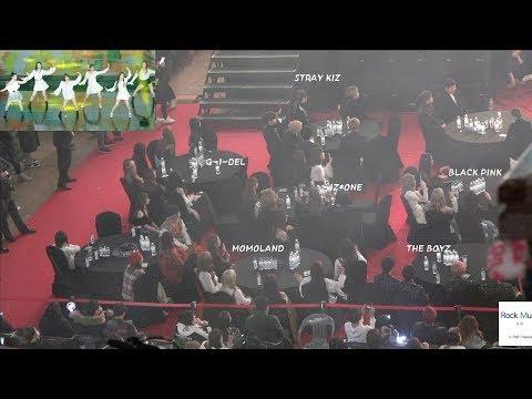 Black Pink, Stray Kids, MOMOLAND, IZ*ONE, (G) I-DLE Reaction to Stage Red Velvet Stage 4K 190123