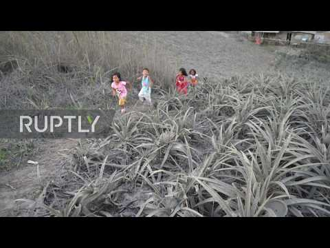 Philippines: Tagaytay covered in ash after Taal Volcano eruption