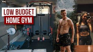 Perfektes HOME GYM für 500€ ∙ Eigenes Fitnessstudio mit Power Rack & Kabelzug günstig selber bauen