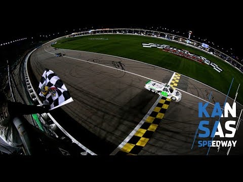 Ross Chastain scores first career Gander Trucks win at Kansas