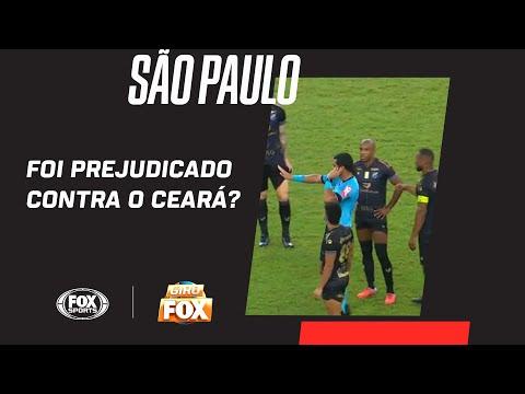 SÃO PAULO FOI PREJUDICADO CONTRA O CEARÁ? Comentaristas analisam atuação da arbitragem