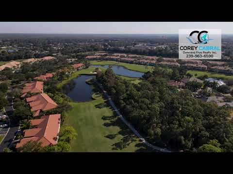 Stonebridge Golf & Country Club Naples FL 360 Aerial Real Estate Homes & Condos