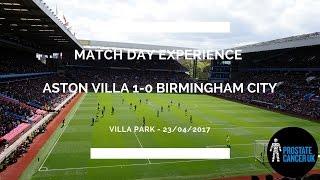 Groundhop at Villa Park - Aston Villa v Birmingham City - INCREDIBLE SECOND CITY DERBY!