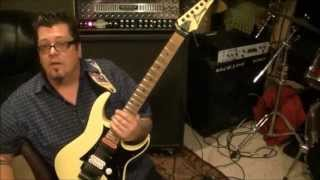 How to play Bang by Gorky Park on guitar by Mike Gross
