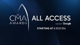 CMA Awards 2018 All Access Red Carpet Live Stream