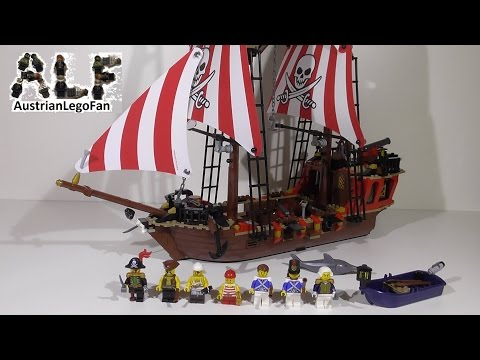 Vidéo LEGO Pirates 70413 : Le bateau pirate
