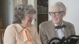 """Pixar's """"UP"""" In Real Life: 80 Year Old Grandparents Celebrate Anniversary With Adorable Piano Duet"""