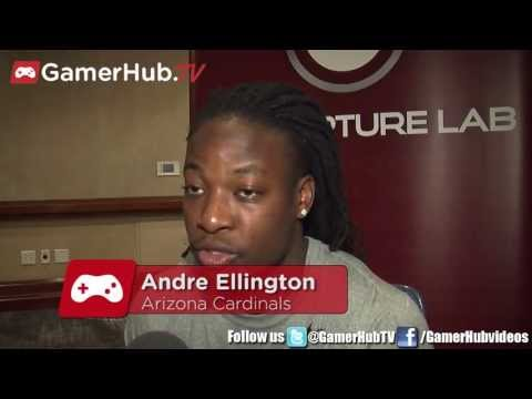 Arizona Cardinals Andre Ellington Talks Madden NFL 25 - Gamerhub.tv