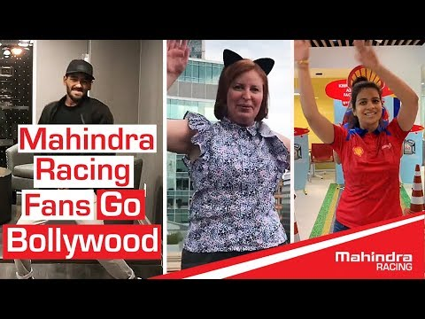 Mahindra Racing Fans Go Bollywood | Dance Mashup